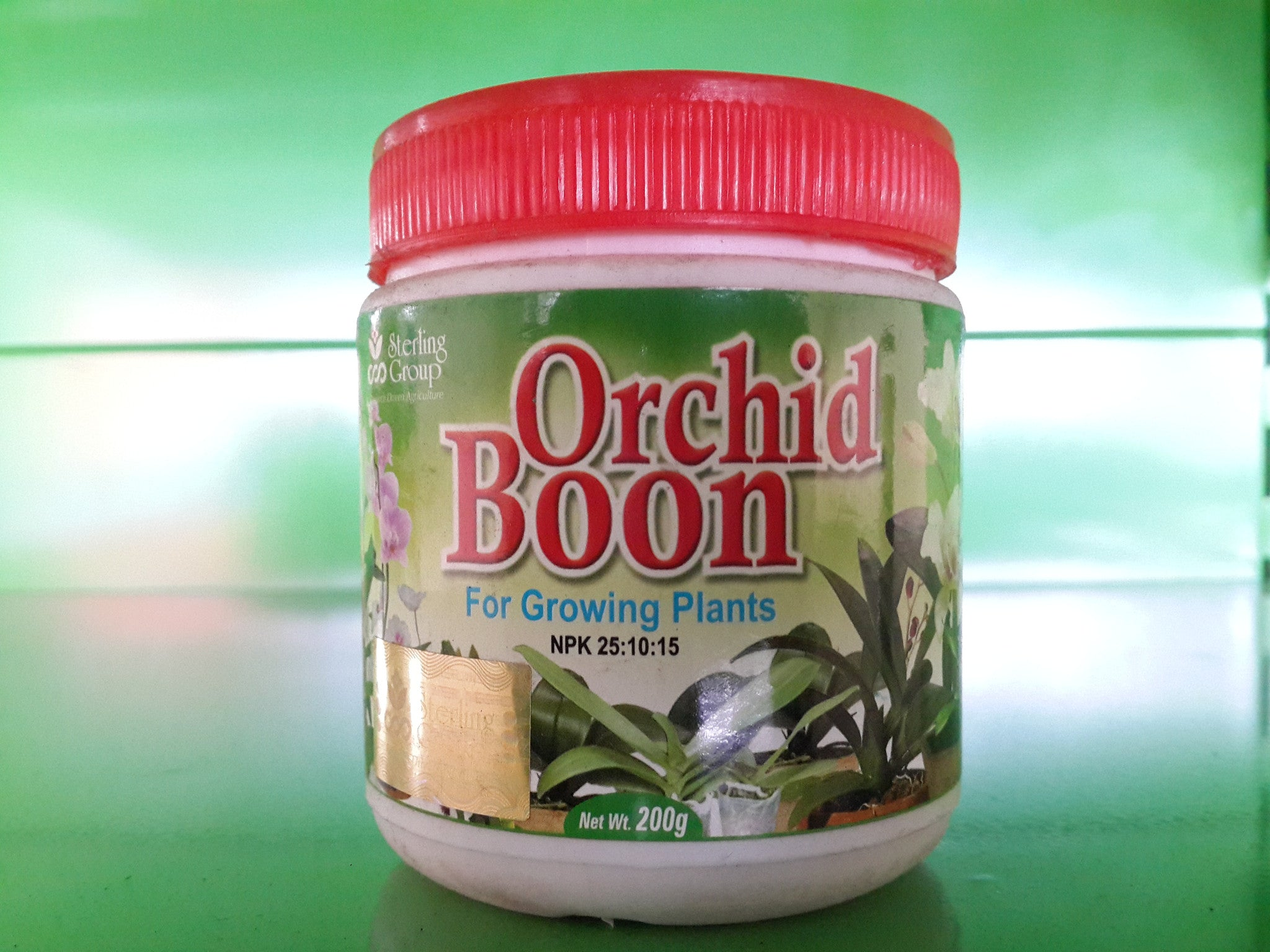 Orchid boon for growth