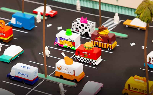 Candyvans Mini-Trucks by Candylab Toys