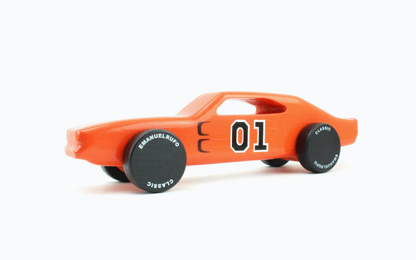 General Lee Holzauto Muscle Car
