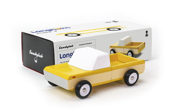 Pick-Up Longhorn yellow Candylab Toys