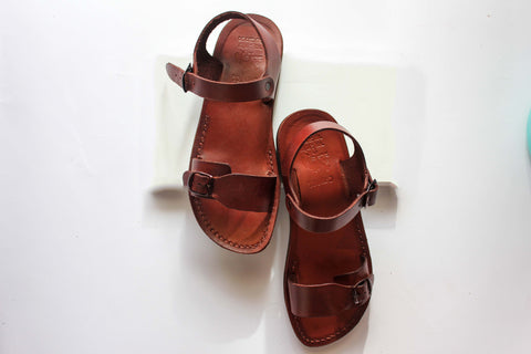 incredible prices differently cute cheap Leather sandals for women Classic Jesus sandals