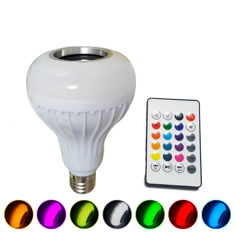 Haut-parleur Bluetooth Ampoule LED