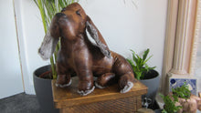 Boomer the Bloodhound Faux Leather Doorstop