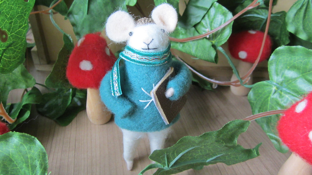 Winter student mouse