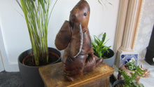 Harriet Hare Faux Leather Doorstop