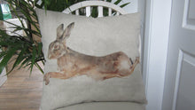 Leaping Hare Cushion