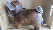 Brilliant Bulldog Faux Leather Doorstop