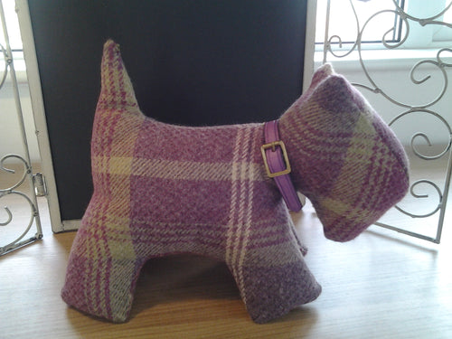 Handmade Scotty Dog Doorstop