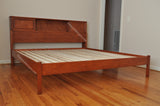 Custom bookcase Bed  maple wood