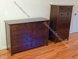 custom chest of drawers and custom dresser