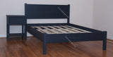 Cottage Simplicity Plus Custom Platform Bed  with Headboard
