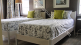 Cottage simplicity platform bed