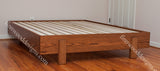Oak Queen Kajaani Platform stained in Teak