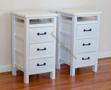 Night stand with 3 drawers