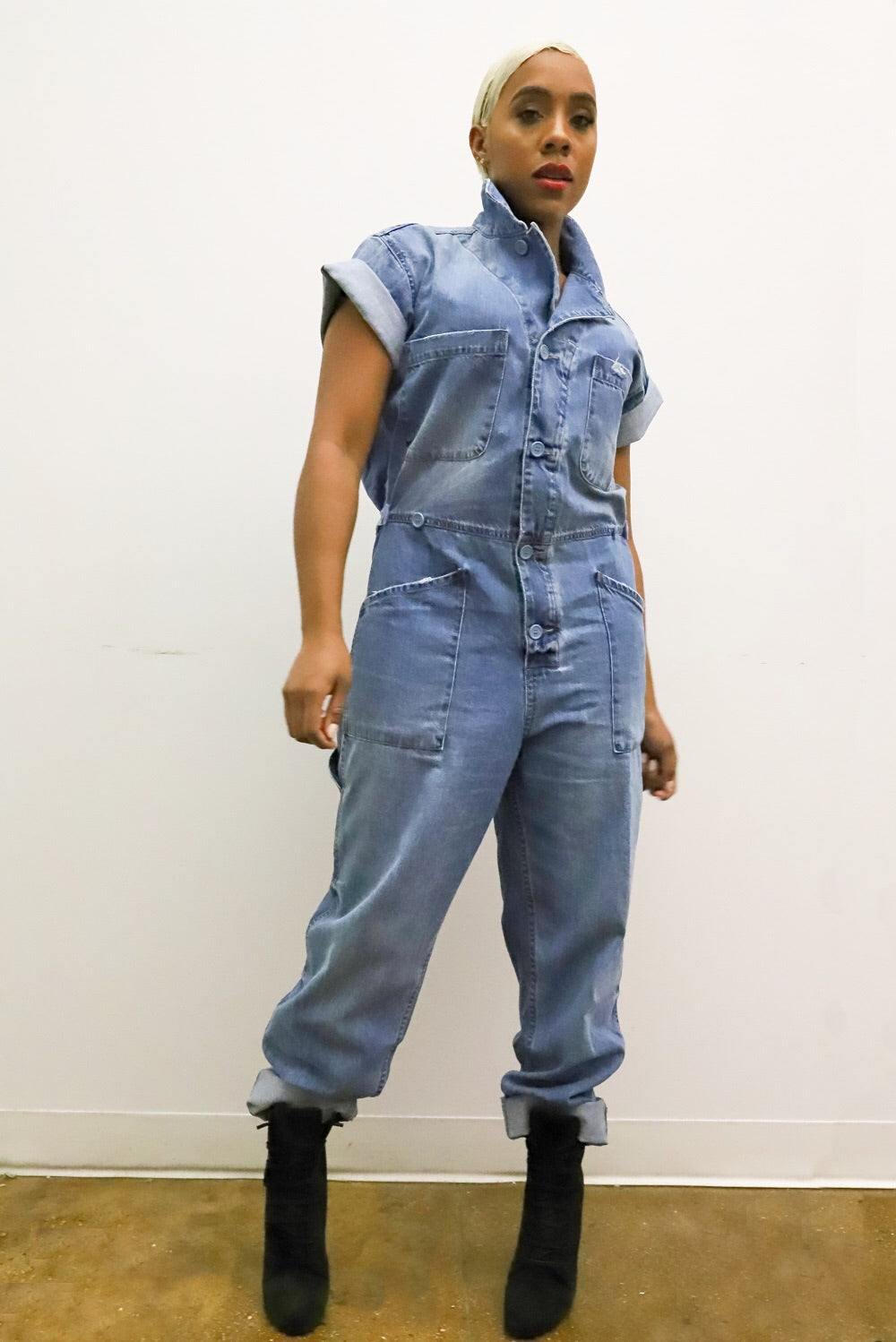 'The Worker' Denim Suit