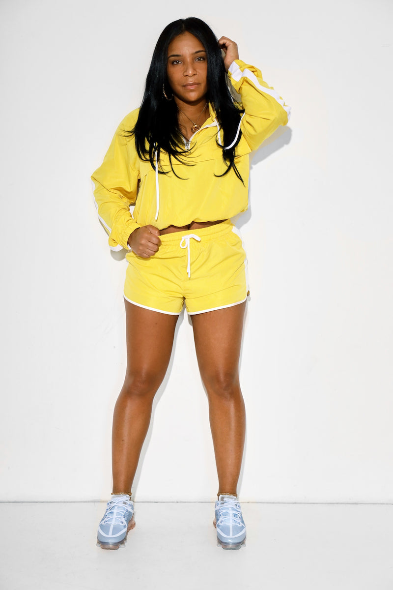 Reem Windbreaker Short Set