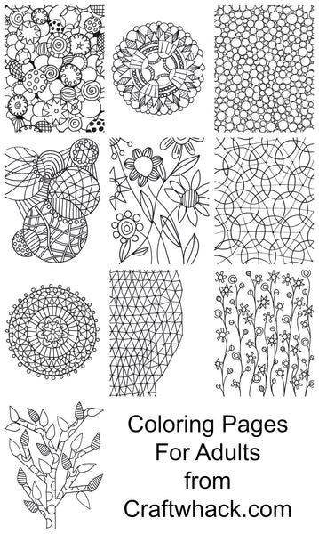 Coloring Pages for Adults (and Teeeeeens)