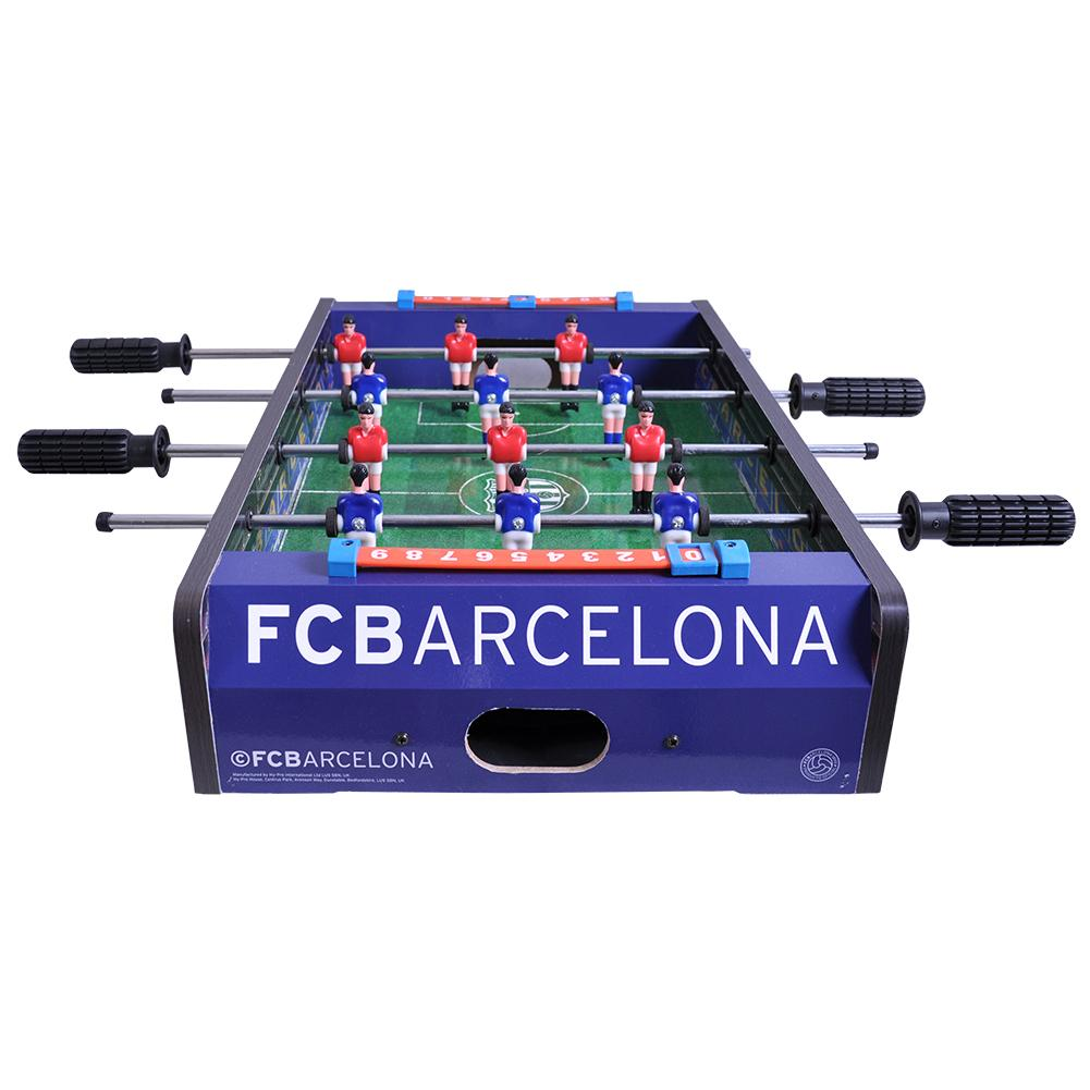 FC Barcelona Inch Football Table Game Spoomescom - Barcelona fc table