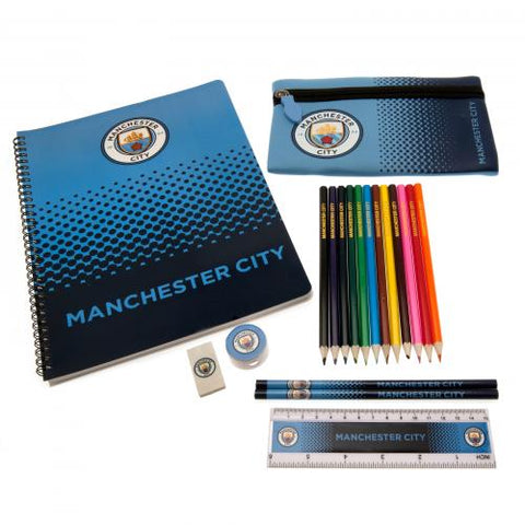 Manchester City F.C. Ultimate Stationery Set