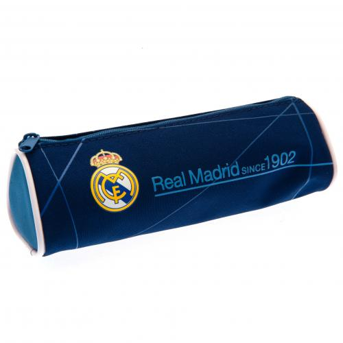 Real Madrid F.C. Barrel Pencil Case