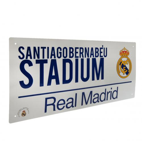 Real Madrid F.C. Street Sign