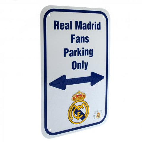 Real Madrid F.C. No Parking Sign