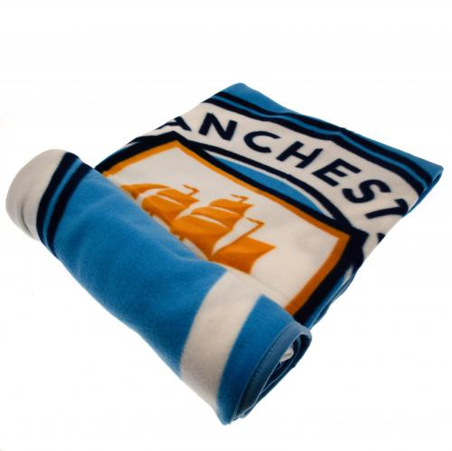 Manchester City F.C. Fleece Blanket