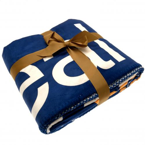 Real Madrid F.C. Sherpa Fleece Blanket