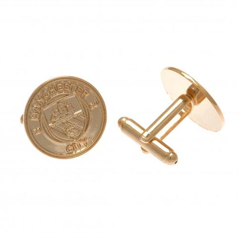 Manchester City F.C. Gold Plated Cufflinks