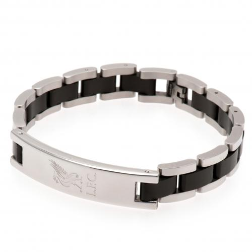 Liverpool F.C. Black Inlay Bracelet