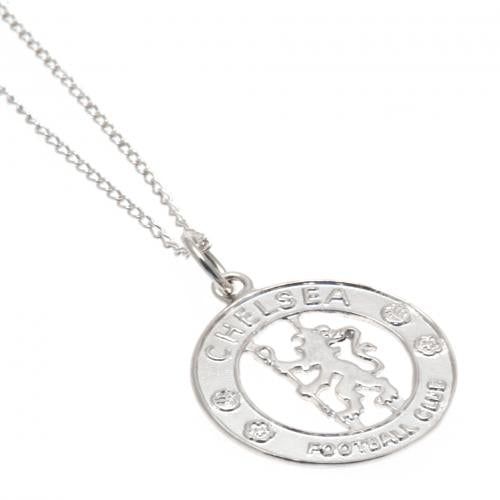 Chelsea F.C. Sterling Silver Pendant & Chain