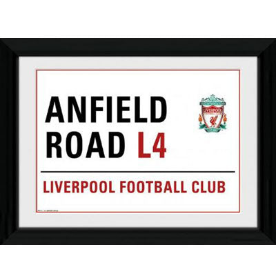 Liverpool F.C. Picture Street Sign 16 x 12