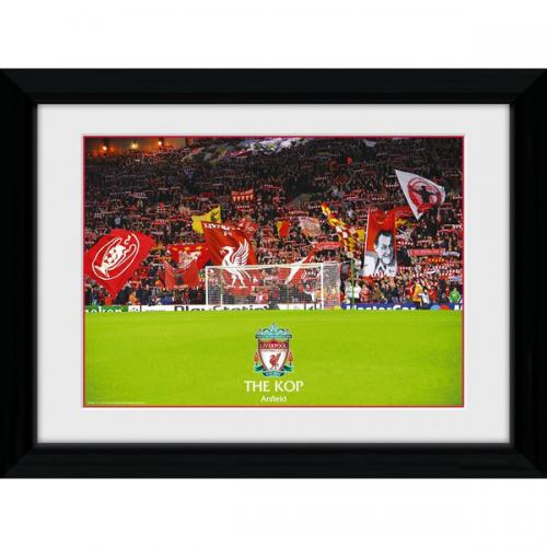 Liverpool F.C. Picture The Kop 16 x 12