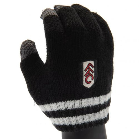 Fulham F.C. Knitted Gloves Junior