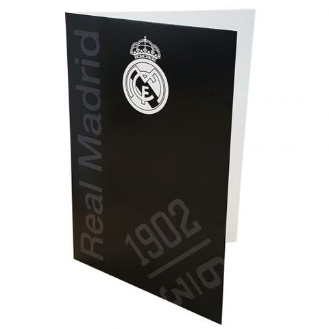 Real Madrid F.C. Greetings Card