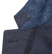 Blue Slim-Fit Milano Easy Birdseye Wool Blazer