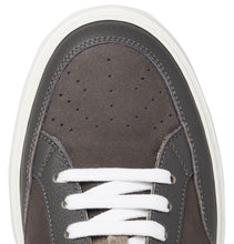 Full-Grain Leather-Trimmed Nubuck Sneakers