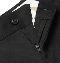 Slim-Fit Tapered Cotton-Blend Twill Chinos
