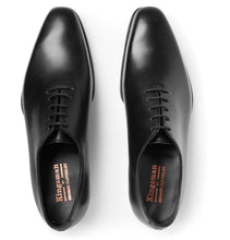 + George Cleverley Merlin Whole-Cut Leather Oxford Shoes