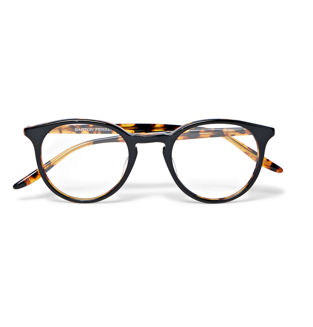 Princeton Round-Frame Tortoiseshell Acetate Optical Glasses