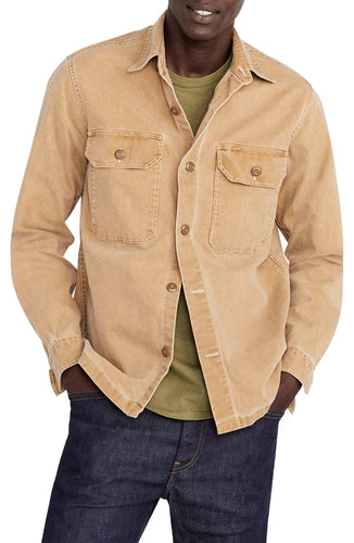 Wallace & Barnes Stretch Duck Canvas Shirt Jacket
