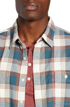 Wallace & Barnes Slim Fit Plaid Flannel Shirt