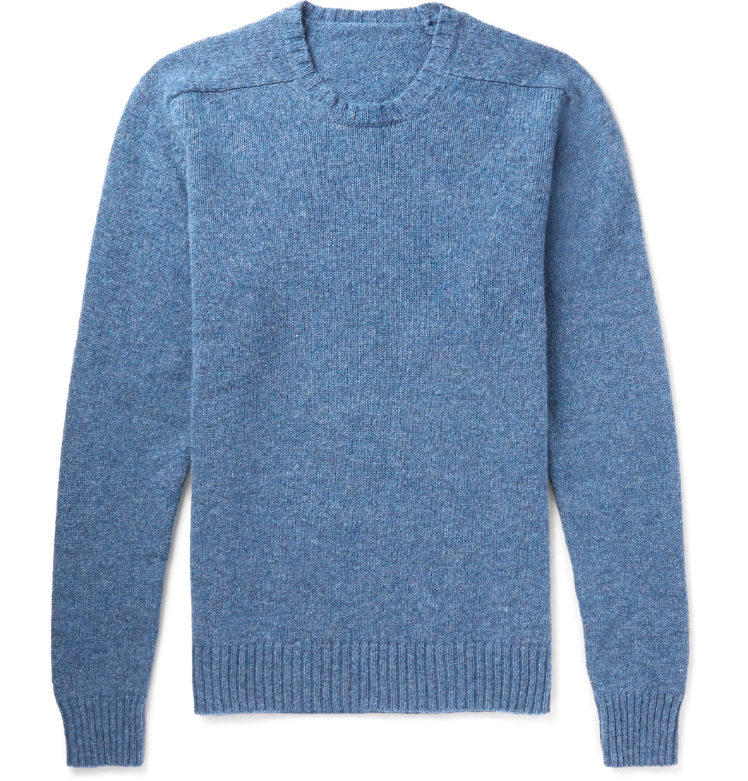 Mélange Wool Sweater