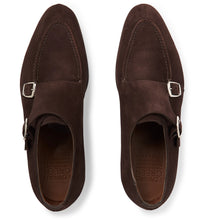 Fulham Suede Monk-Strap Shoes