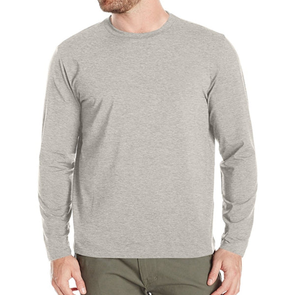 Grey Long Sleeve T-Shirt