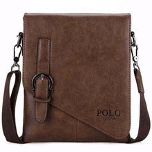 Messenger Bag in Khaki/Black/Brown