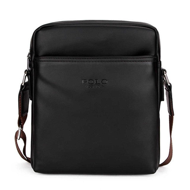 Shoulder Bag in Black/Brown