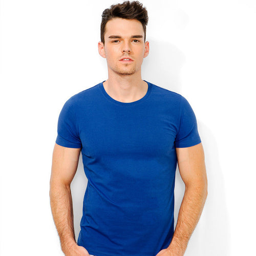 Blue Crewneck T-Shirt