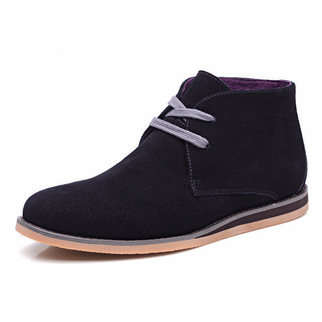 Suede Chukka Boots (3 Colors)