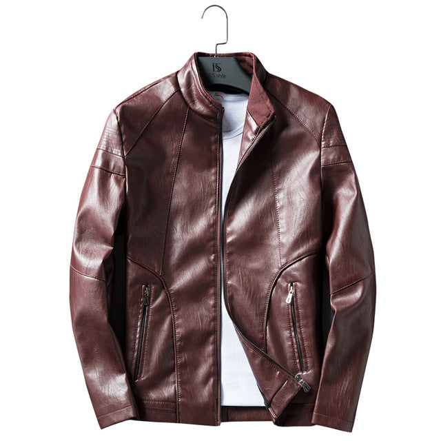 PU Leather Jacket (3 Colors)